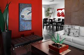a great accent colour can add warmth to the room
